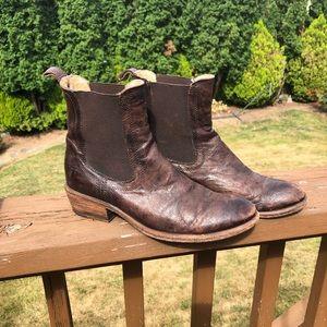 Brown Frye Boots booties